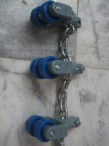 ترولی و زنجیر