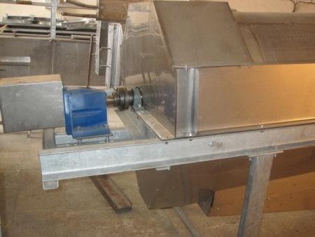 دستگاه سپراتور یا جدا کننده ضایعات از آب, دستگاه سپراتور یا جدا کننده ضایعات از آب, کارگاه مهندسی تکنیکوم