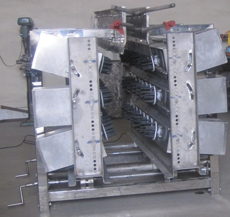 دستگاه پرکن 6 ردیفه مخصوص پرندگان بزرگ جثه, پرکن, کارگاه مهندسی تکنیکوم